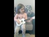 Иришка Ханова (6 лет) - районы кварталы на укулеле