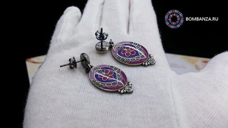 Серьги Clara Bijoux, A71182.22.T V. Элитная бижутерия из Испании
