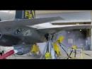 Испытание бортового пулемета американского истребителя