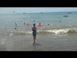 Юлиан и Анастасия - Лазаревское, пляж