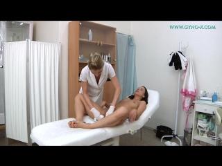 Gyno-x terezza bizzare [medical fetish, gyno exam, anal checkup, vaginal enema, butt plug, masturbation]