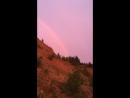 Рассвет на голубом озере. Александровск