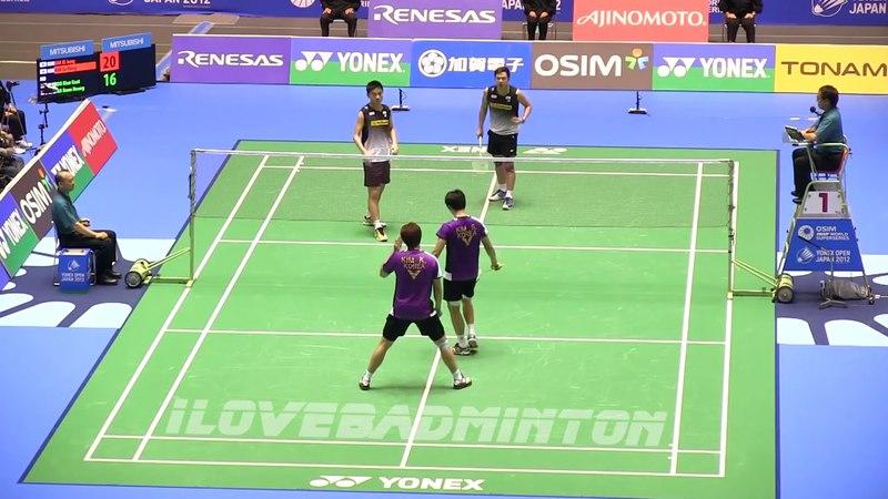 Nice Camera - KOO Kien Kiat TAN Bong Heong vs KIM Sa Rang KIM Ki Jung | Badminton Flashback