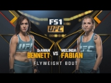 THE ULTIMATE FIGHTER FINAL DeAnna Bennett vs Melinda Fabian