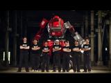 Первый в мире бой гигантских роботов
