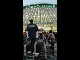 26.11.2017 Охранник у Токио Доума