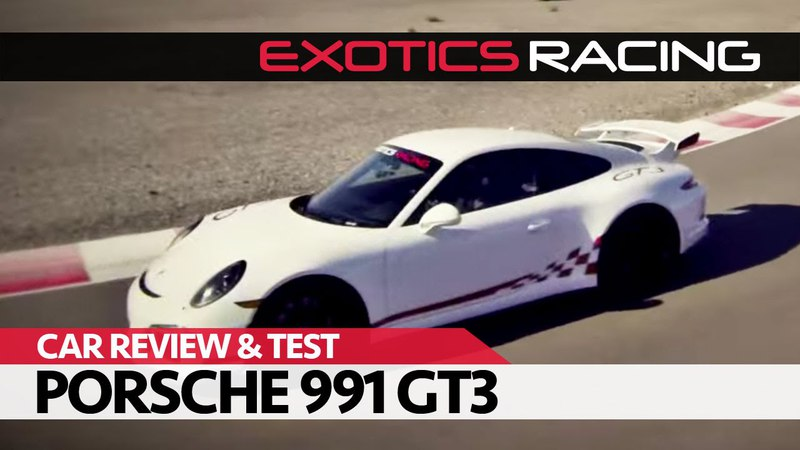 ExoticsRacing Las Vegas | Car Review Test Drive: FWD Porsche 911 (991 Mk1) GT3!