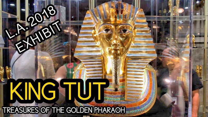 KING TUT : TREASURES OF THE GOLDEN PHARAOH: W/ INTRO MOVIE! (Final World Tour) HD