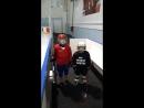Детский хоккей/выход из зоны/голевой пасс