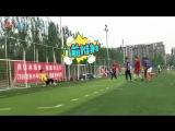 VIDEO LuHan @ The 1st Football Class