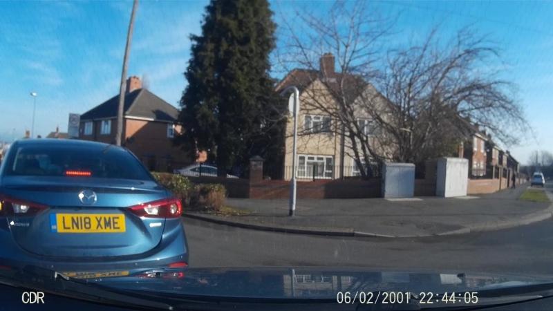 High Impact Car Crash