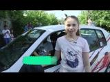 Детская автошкола в Барнауле. Юные журналисты выясняли кто лучше ездит - мальчики или девочки.