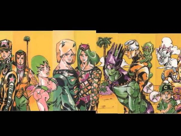 ジョジョの奇妙な冒険のコミック背表紙をまとめてみた(コメ付き)