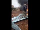 Сбитый в Сирии Су-25 ВКС России 03. 02. 2018