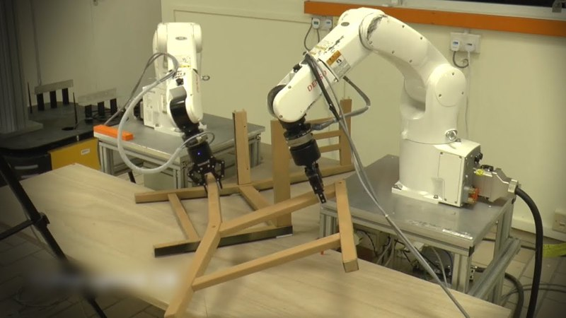 Can these robots build an Ikea chair