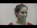 Первая проба нового номера резидента проекта Статап Арт Оксаны Бобровой Дадим номеру жизнь