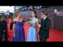 Natalia Oreiro - Interview with TNT - Red Carpet of Premios Platino - 22.7.2017