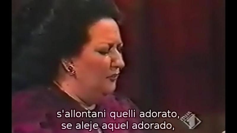 Montserrat Caballe - O Nume tutelar de La Vestale de Spontini (subtítulos español e italiano) Teatro Alla Scala de Milán, Miguel
