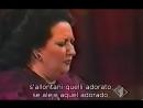 Montserrat Caballe - O Nume tutelar de La Vestale de Spontini subtítulos español e italiano Teatro Alla Scala de Milán, Miguel