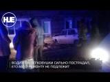 В Астрахани машина влетела в жилой дом