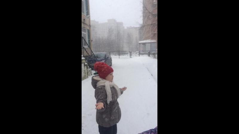 Снег кружился и падал....