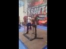 Четвертый Чемпионат Европы АСМ ,, Витязь Пауэр-спорт 2-подход 97.5 строгий жим стоя