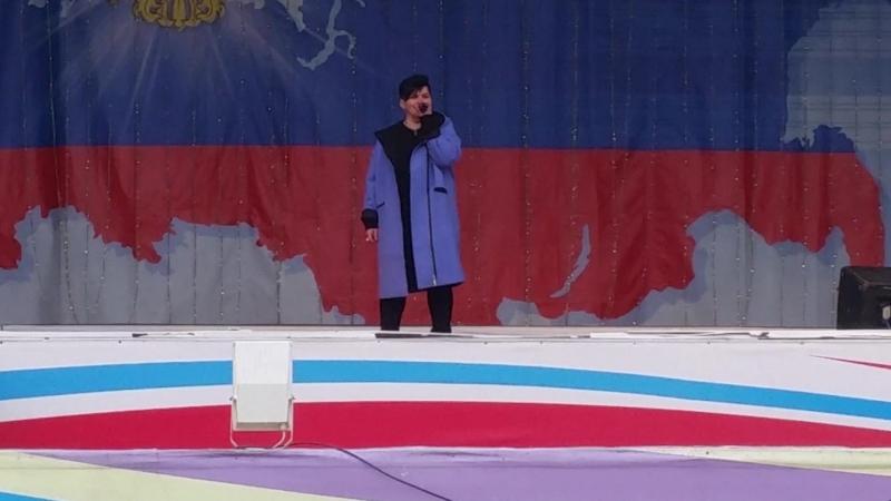 Анна Сулицына - Пусть вам повезет в любви. День пожарной охраны. ЦПКиО. 30.04.2018