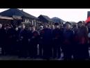 В музее-памятнике сибирской ссылки В.И.Ленина. Сибирские коммунисты на возложении цветов в п.Шушенское.