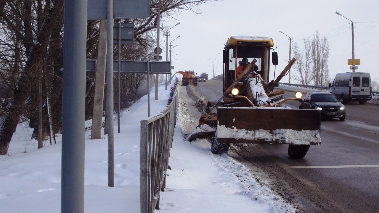 Дорожники: На трассах Ростовской области ожидается сильная метель