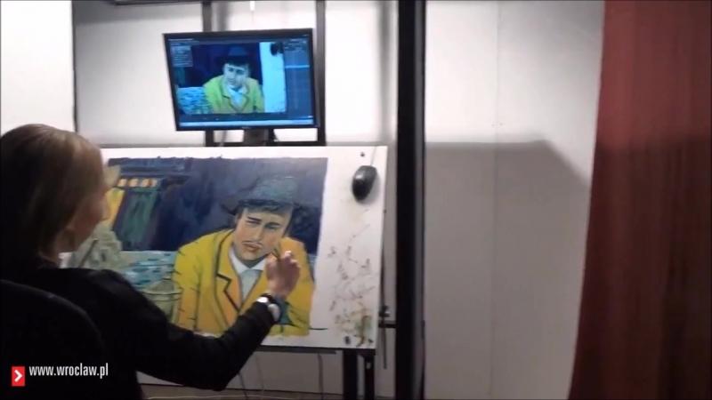 Ван Гог. С любовью, Винсент. Художники во Вроцлаве.