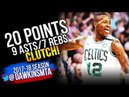 Terry Rozier Full Highlights 2018 ECSF Game 2 Boston Celtics vs 76ers - 20-9-7 CLUTCH! | FreeDawkins