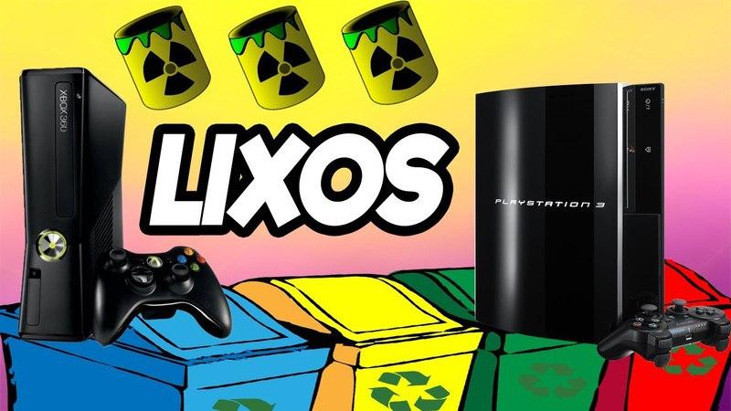 XBOX 360 E PS3 SÃO CONSIDERADO UM LIXO PARA AS EMPRESAS DE GAMES ?? ⚠ ⚠ ⚠