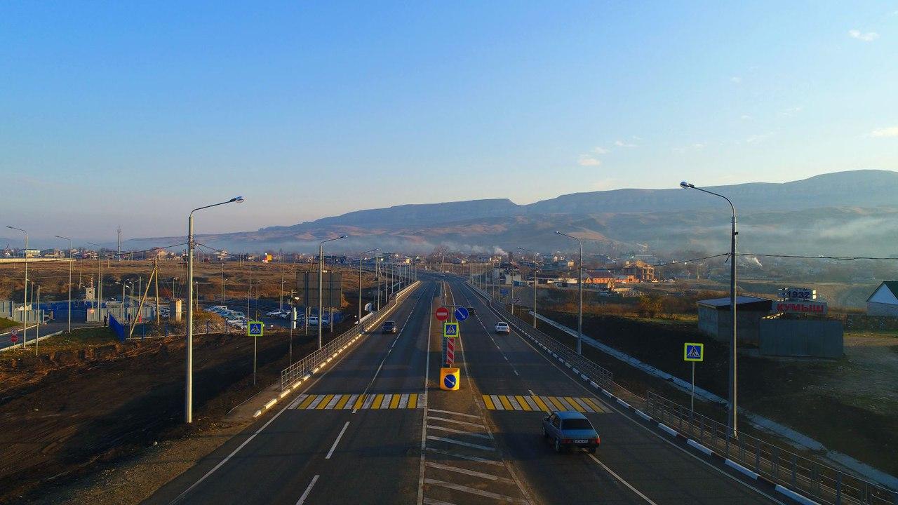 В КЧР открыли  один из самых современных мостов в СКФО