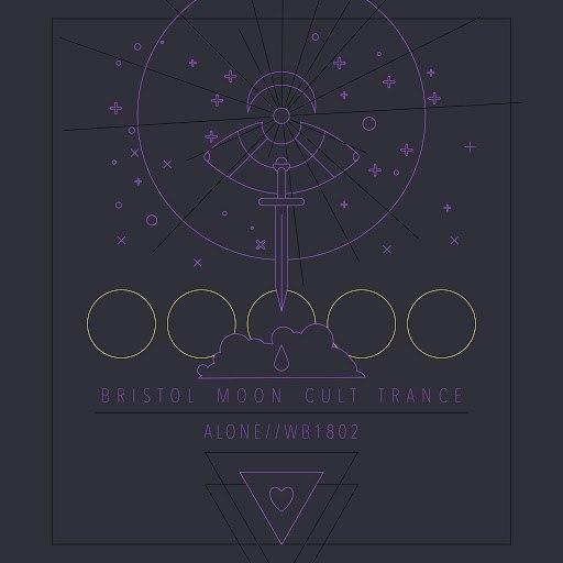 ALONE альбом Bristol Moon Cult Trance