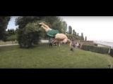 Мое первое видео и первый задний винт///#PKFR FOX1CK