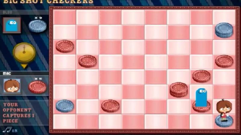 EL BOT SE RÍE DE MÍ ANTES DE GANAR | Big Shot Checkers