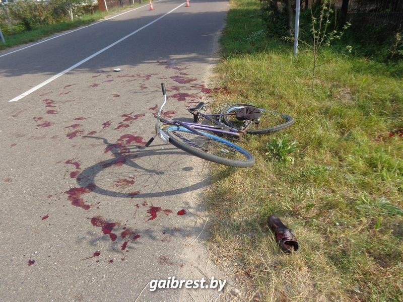 В Пружанах совершен наезд на велосипедиста