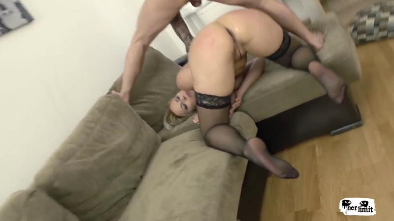 Wild Czech blonde Nikky Dream loves extreme deepthroating and deep