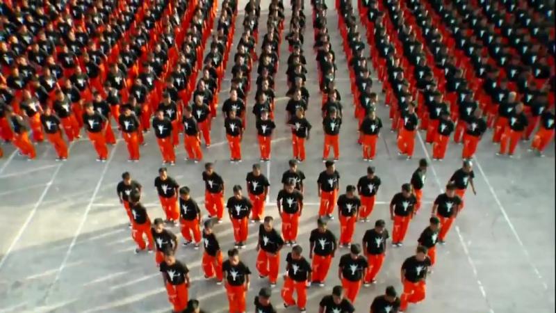 Танец заключенных в память о Майкле Джексоне ЭНЕРГИЯ