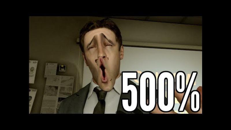 Heavy Rain but 500% facial animations