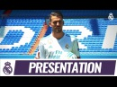 Dani CEBALLOS' first day in a REAL MADRID shirt!