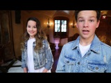 Hayden Summerall &amp Annie LeBlanc (Behind the scenes) of Little Do You Know