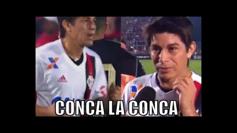 Conca la Conca... Hoje é meu aniversário e o Flamengo começou a virada! Gostei do Conca! Mengooooooo