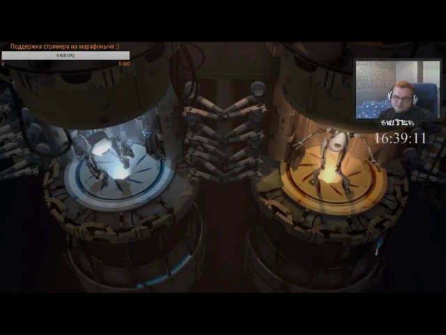 Попытки игры в Portal 2 после бессонной ночи