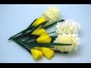Krokusy z bibuły. Handmade paper flowers - crocuses mix DIY