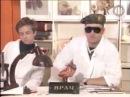 Андрей Губин, Сергей Лемох и Влад Сташевский в передаче 50х50, 1995 год
