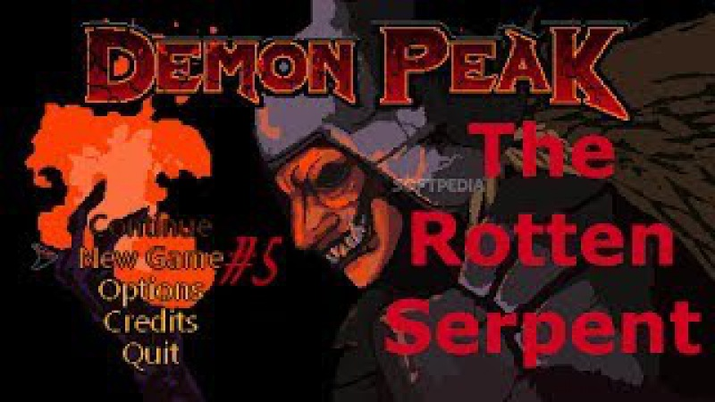 Demon Peak 5 First Boss The Rotten Serpent Первый БОСС!!