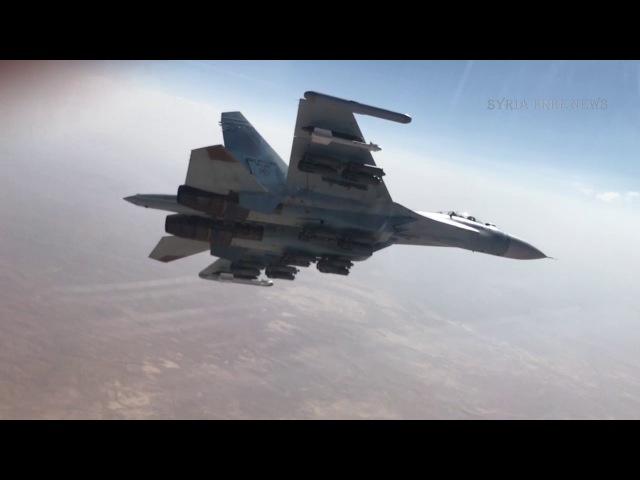 Су-35С над провинцией Хомс