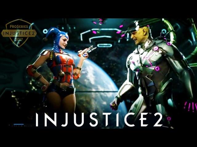 Intense GRAND FINALS • Biohazard vs Tekken Master - INJUSTICE 2 PRO SERIES