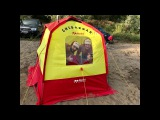 Эксклюзивная походная баня Mobiba! 150 градусов в палатке!